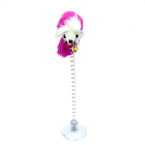 Wildgirl pet cats funny cat toys funny stand rat toy with for Cat toys for when you re not home
